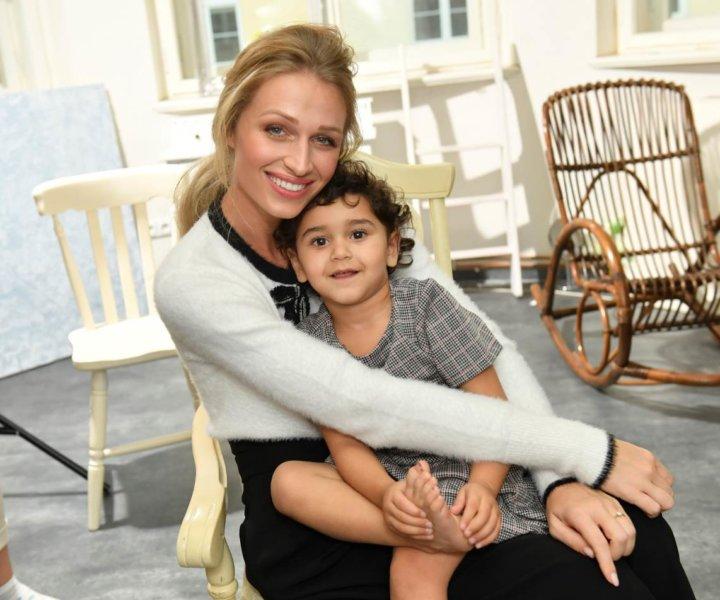 Veronika Kašáková s dětmi zářila štěstím